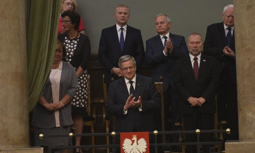 Bronisław Komorowski, były prezydent Polski