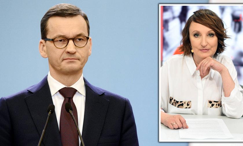 Burzyńska o sytuacji Morawieckiego po raporcie NIK.