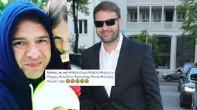 """Tomasz Karolak pokazał urocze zdjęcie z dziećmi. """"Słodka rodzinka"""""""