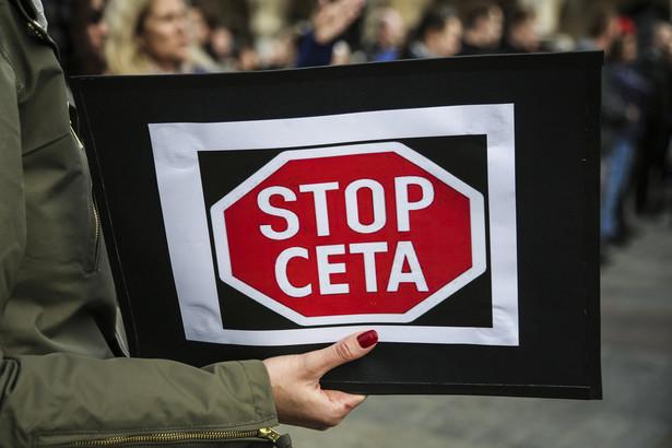 Europejskie i kanadyjskie grupy obywatelskie wzywają do odrzucenia umowy CETA