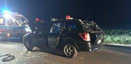 Koń siał spustoszenie na drodze. O mało nie zabił 23-latka