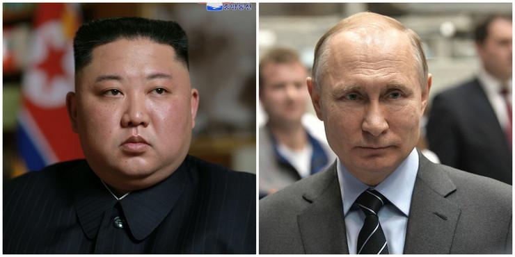Kim i Putin