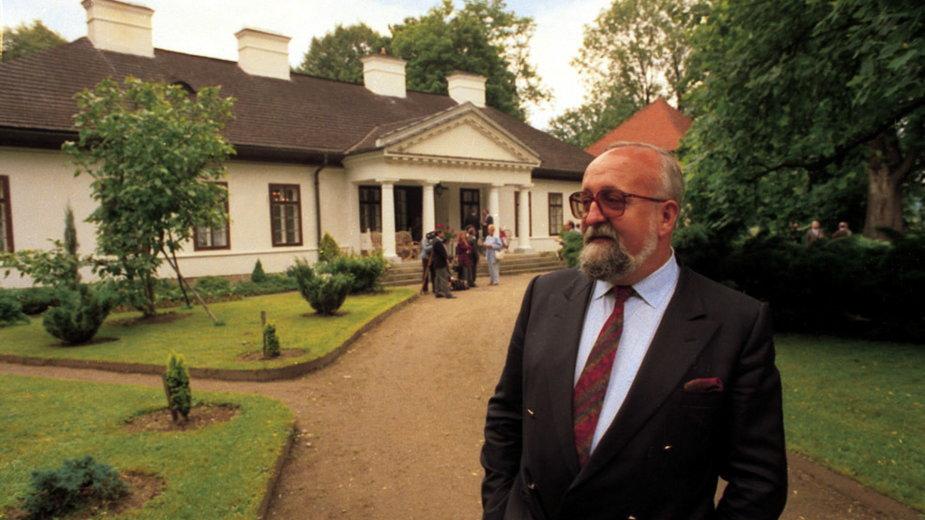 Krzysztof Penderecki w Lusławicach