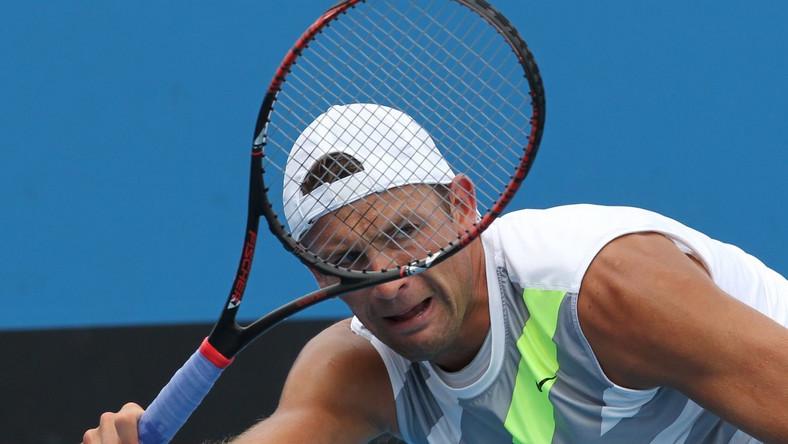 Łukasz Kubot gra w turnieju w Acapulco