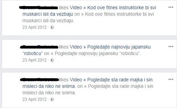 Lajkovao inceste po Fejsbuku
