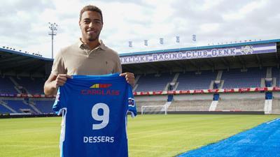 Belgian-born Nigerian striker Cyriel Dessers returns home to join Genk