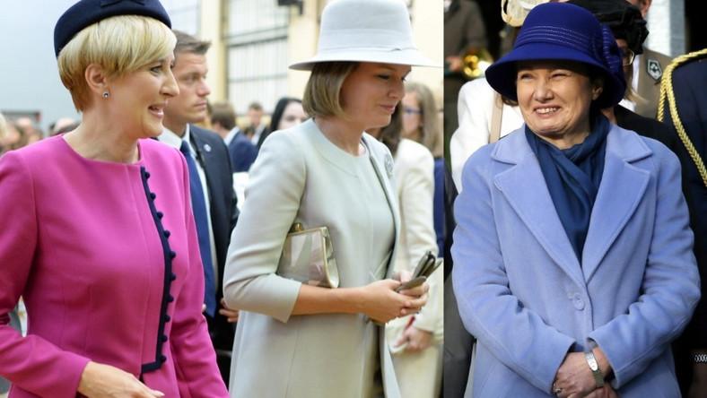 Z takimi kobietami jak polska pierwsza dama i królowa Belgii trudno konkurować w kategoriach stylu i prezencji....