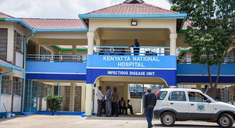 File image of Kenya's first Coronavirus isolation centre at Mbagathi Hospital, Nairobi