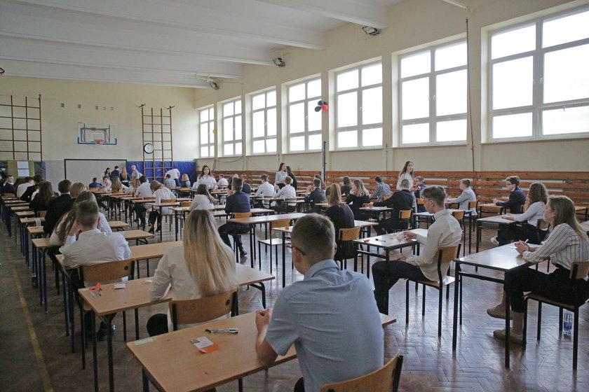 Egzaminy gimnazjalne w Łodzi