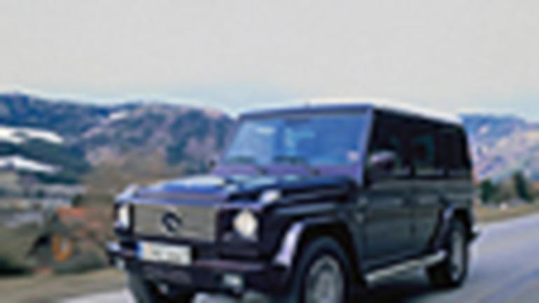Mercedes G - Terenówka dla prezesa