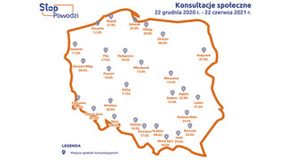 Stop Powodzi. 28 spotkań konsultacyjnych projektów aPZRP w całej Polsce