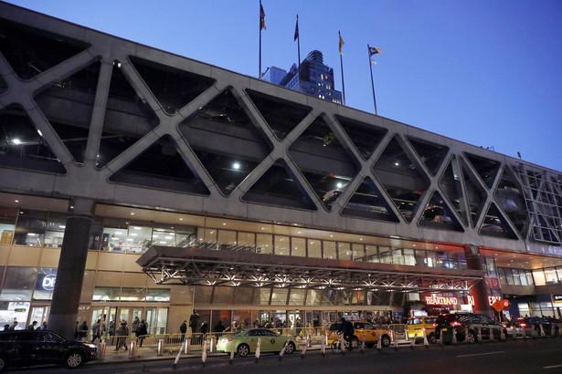 Terminal autobusowy w Nowym Jorku, gdzie doszło do eksplozji