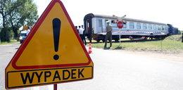 Pociąg ciągnął wrak przez 300 metrów
