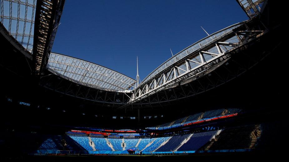 Stadion w Sankt Petersburgu