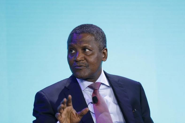 Nigerian billionaire Aliko Dangote