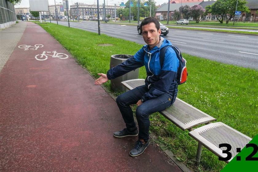 Postawili ławki przy ścieżce rowerowej