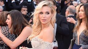 Cannes 2017: Doda w krótkiej sukience na czerwonym dywanie. Wokalistka odsłoniła zgrabne nogi