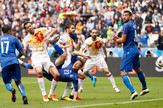 Fudbalska reprezentacija Španije, Fudbalska reprezentacija Italije
