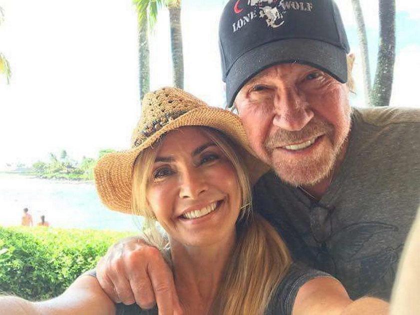 Chuck Norris z żoną