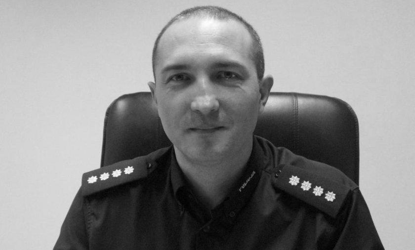 Śmierć komendanta Krzysztofa Skowrona. 54-latek usłyszał zarzuty