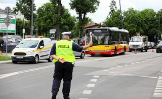 Warszawa: Drugi dzień policyjnych kontroli kierowców miejskich autobusów