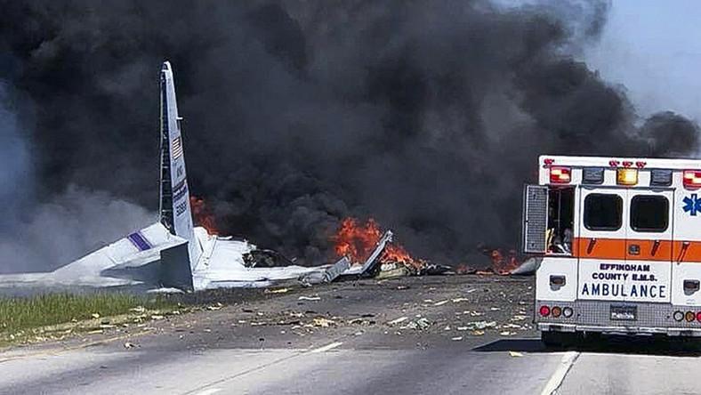 Wypadek samolotu C-130