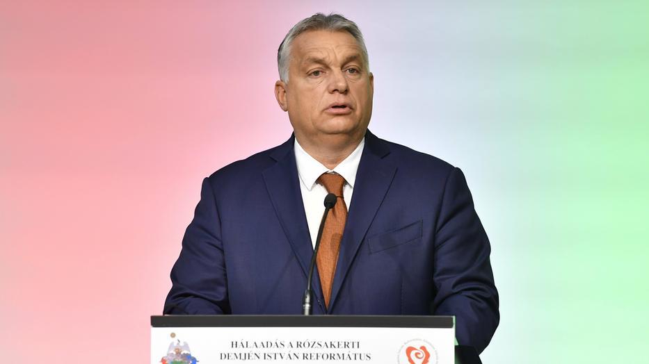 Orbán Viktor / MTI/Máthé Zoltán