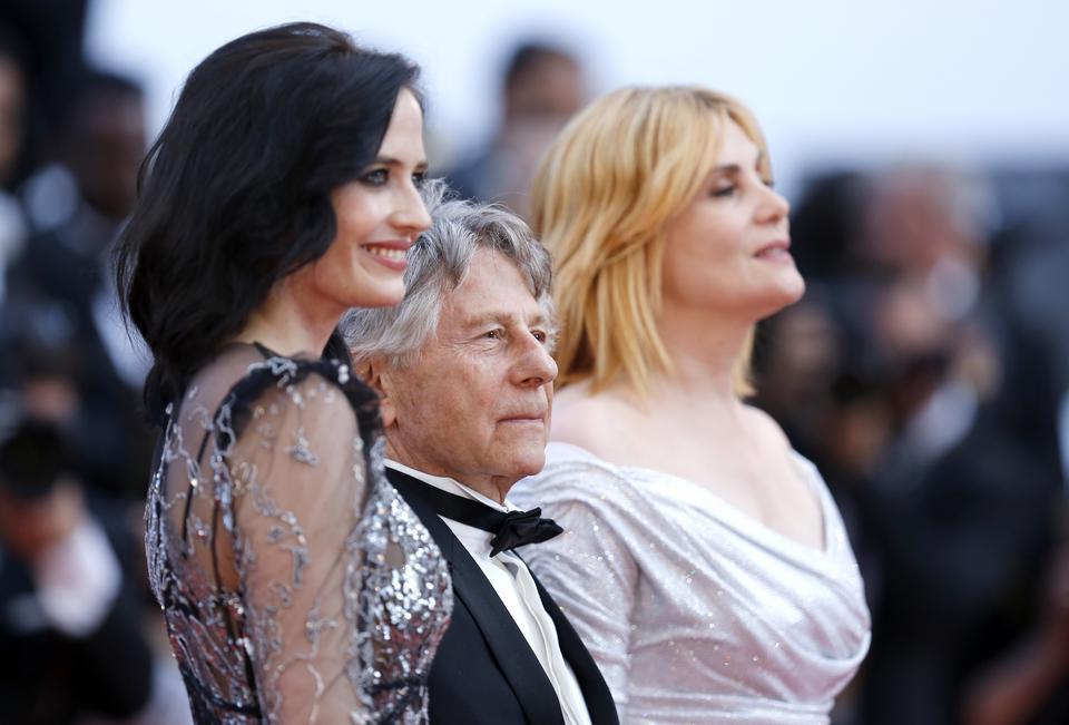 Emmanuelle Seigner, Roman Polański i Eva Green