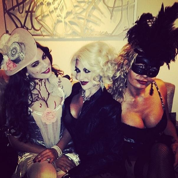 Kelly Brook Halloween 2013