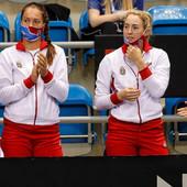 DVE DRAME S LOŠIM KRAJEM! Olga Danilović i Nina Stojanović nisu uspele, Srbija gubi od Kanade sa 2:0