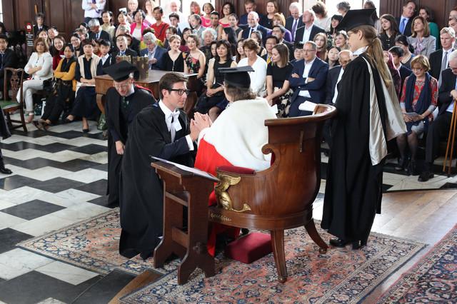 Kosta Živanović je master dao na Univerziteu u Kembridži