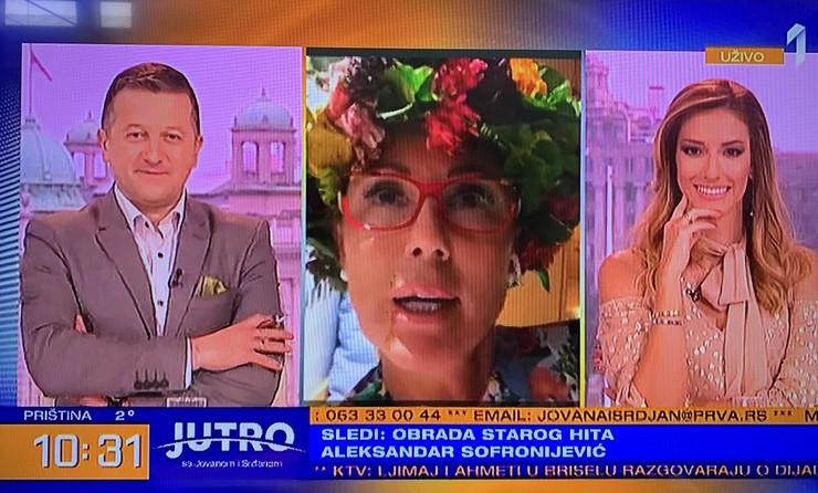 Lepa Brena, Jovana Joksimovic, Srdjan Predojevic - Morning program