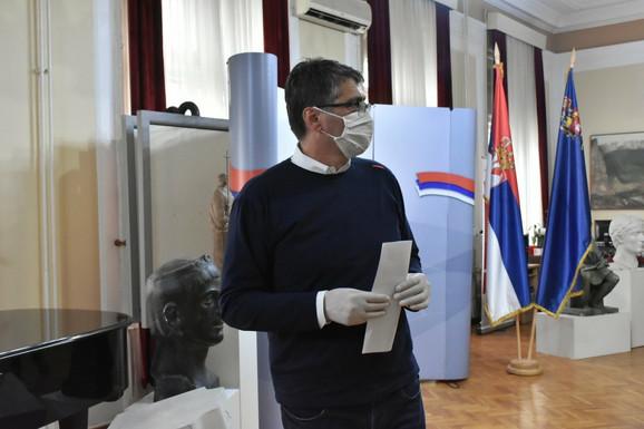 Darko Bulatović, gradonacelnik Niša