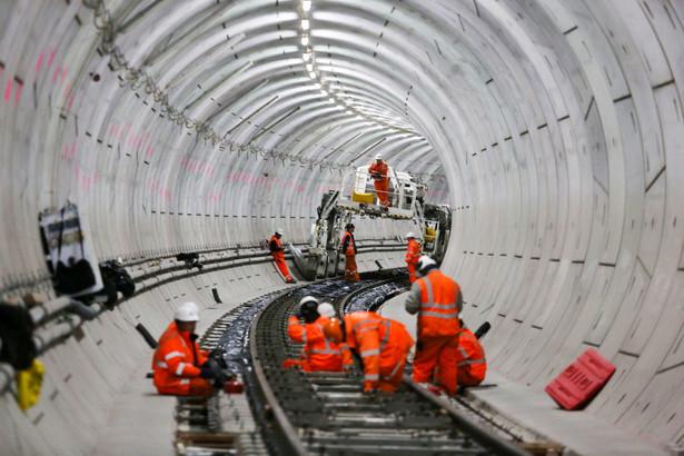 Budowa tunelu Crossrail