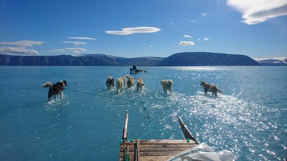 Grenland, globalno zagrevanje