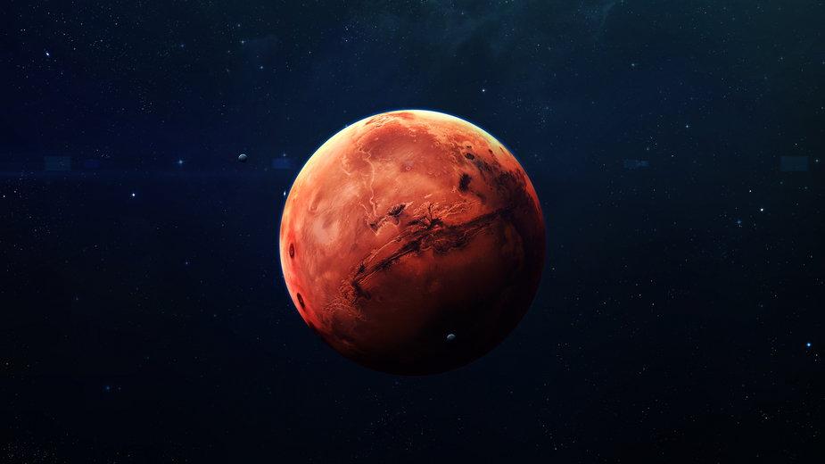 Mars jest najczęściej badaną planetą w Układzie Słonecznym