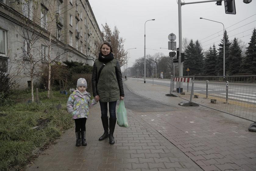 Anna Pietrucha (30 l.), z córką Nicolą (3,5 r.), mieszkanki wrocławskiego Śródmieścia