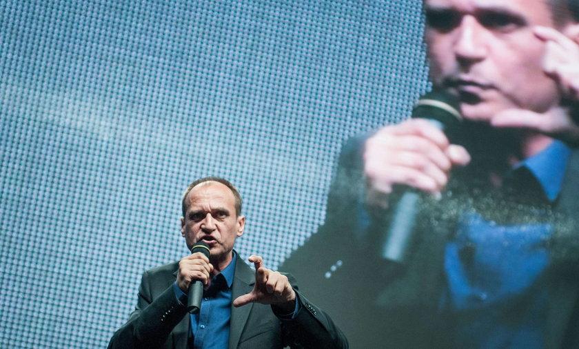 PawełKukiz, lider ruchu na rzecz wprowadzenia JOW-ów i rockman