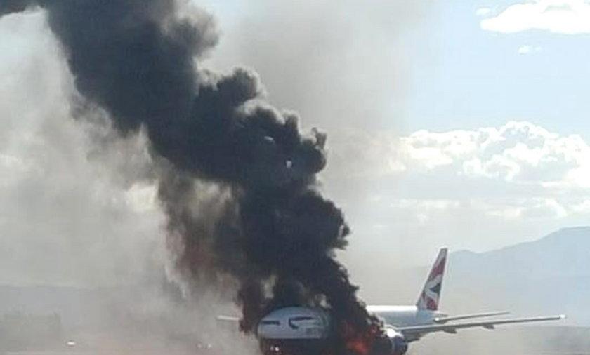 Pożar w samolocie: pasażerowie zostali ranni!