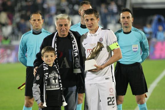 Legende Partizana: Moca Vukotić i Saša Ilić