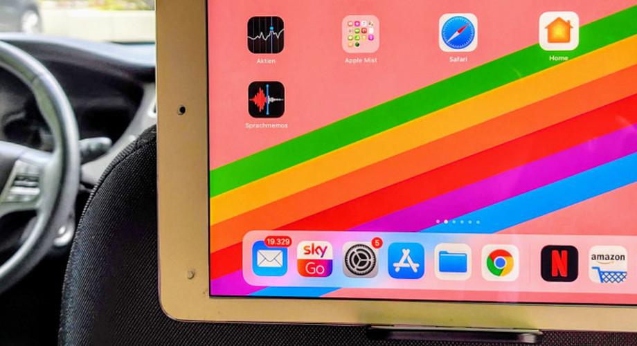 iPad & Co.: Tablet-Halterungen für den Rücksitz im Auto