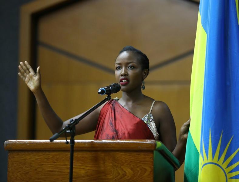 Paula Ingabire, Rwanda's Minister for Information and Communications Technology (ICT)