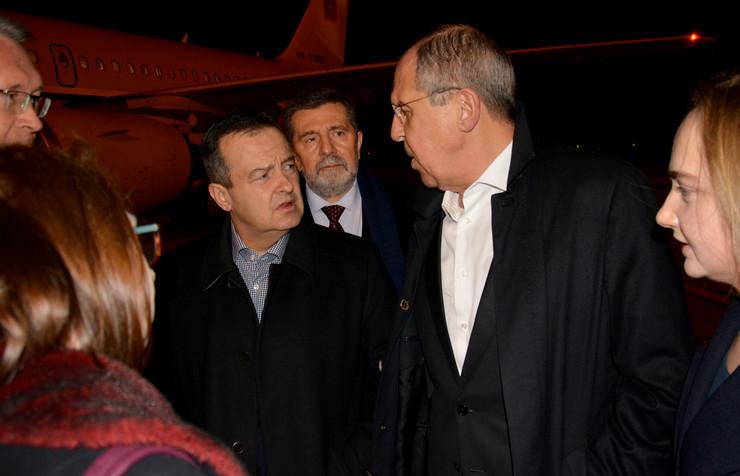 Sergej Lavrov, Ivica Dačić, Tanjug, MSP