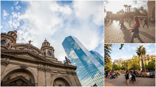 Santiago, Chile. Plaza de Armas