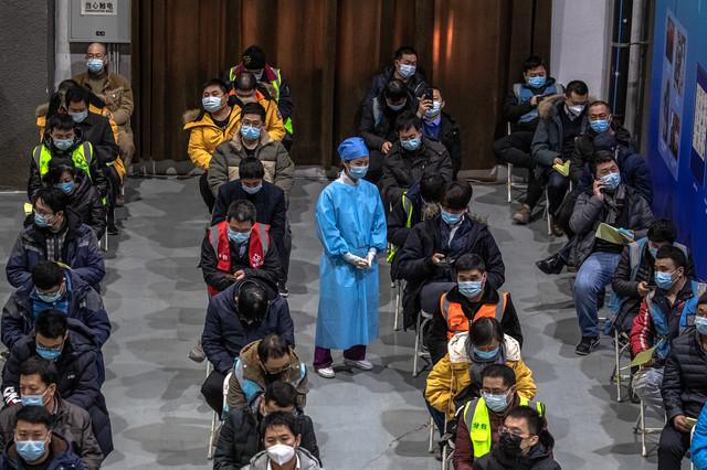 Red za vakcinu u Pekingu