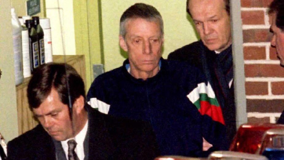 John du Pont zaraz po aresztowaniu