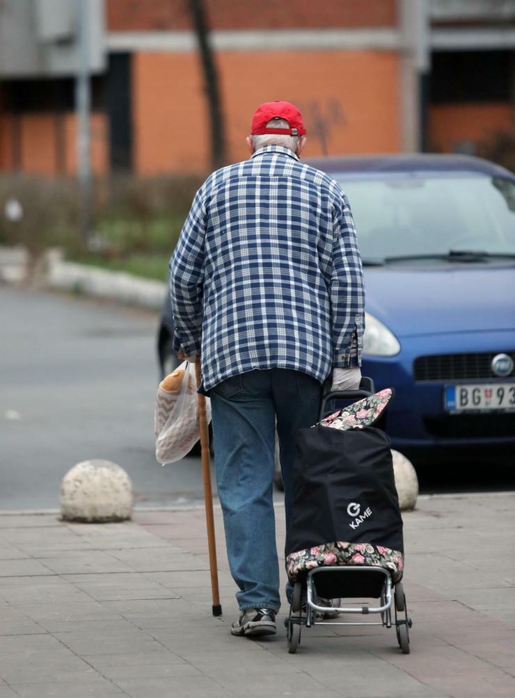 Penzioneri, kupovina, Beograd, Novi Beograd