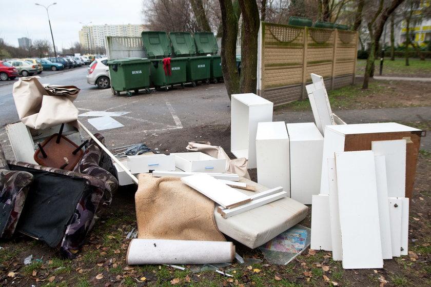W Poznaniu będą częściej wywozić śmieci wielkogabarytowe
