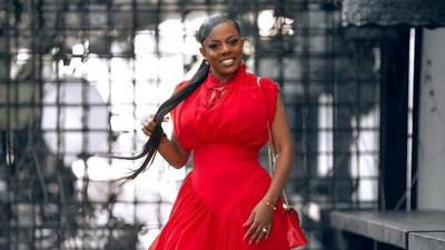 Nana Aba Anamoah is showing us ways to rock red unapologetically