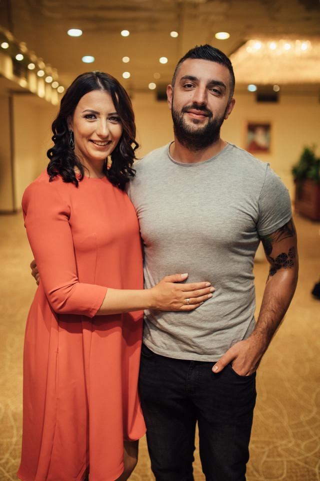 Eldar Nurkovic sa sestrom Milenom